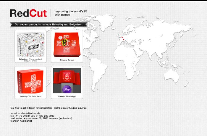 RedCut.ch Web Design
