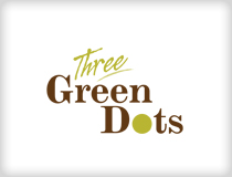 Three Green Dots