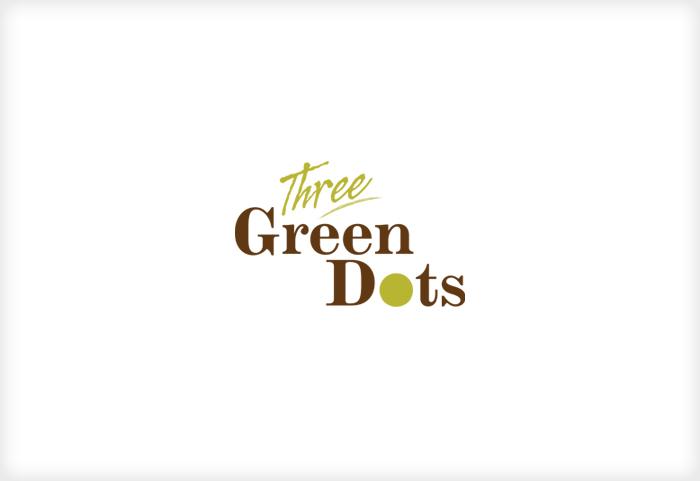 Three Green Dots