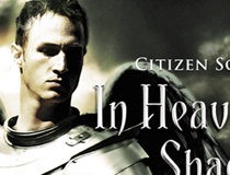 Citizen soldier: In Heaven's Shadow (book cover design)