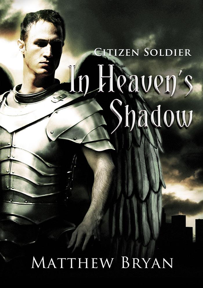 Citizen soldier: In Heaven's Shadow (book cover design)